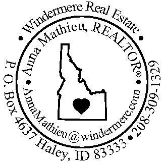Idaho Heart Stamp